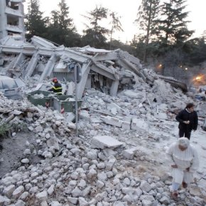 "The L'Aquila Earthquake: Jail for Scientists for Being ""Just Too Reassuring""."