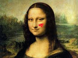 Mona Lisa's Blemish
